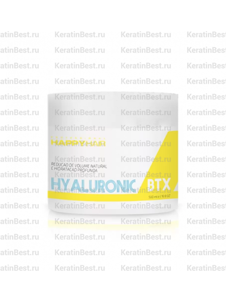 HAPPY HAIR HYALURONIC BTX - 1 kg.
