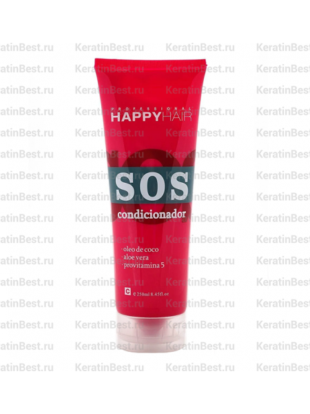 HAPPY HAIR SOS кондиционер - 250 ml.