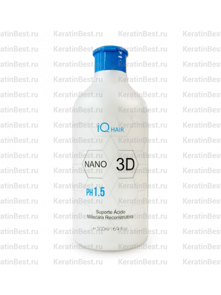 IQ HAIR NANO 3D (кислая подложка)  - 500 ml.
