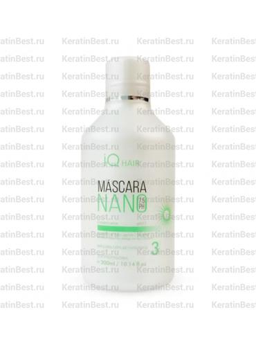 IQ HAIR NANO MASK (завершающая маска)  - 300 ml.