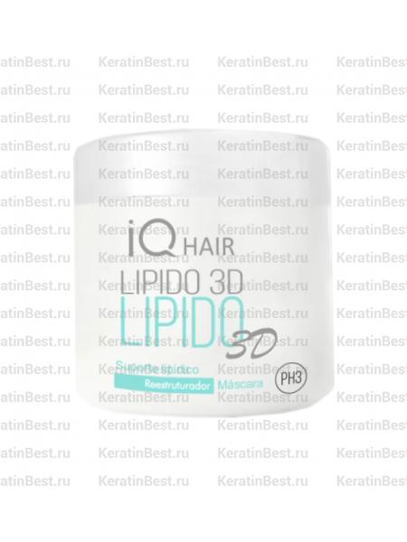 IQ HAIR LIPIDO 3D липидная подложка - 500  gr.