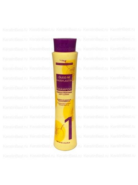 Шампунь глубокой очистки Oleo M Hairplasia - 500 ml