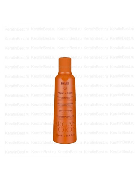 Shampoo Argan e Ojon  250 ml.