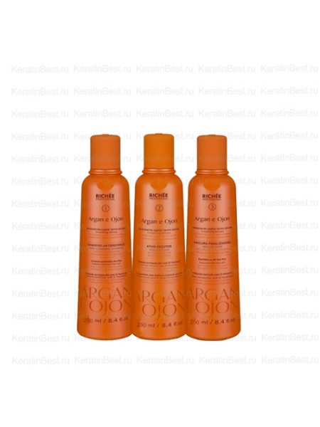 Argan e Ojon 250/250/250 ml.