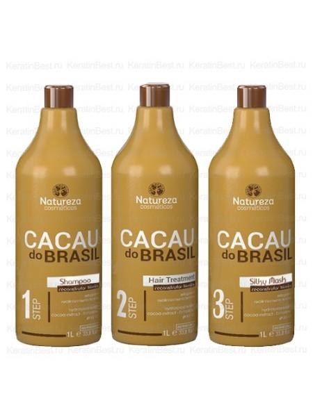 NATUREZA CACAU do Brasil  1000/1000/1000 ml