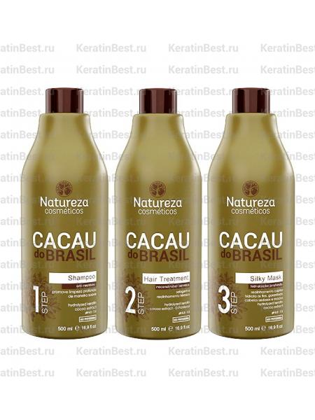 NATUREZA Cacau do Brasil (набор) -  3x500 ml.